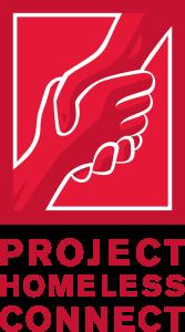(V) Logo Red Words